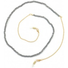 Zonnebril ketting Breads Grey